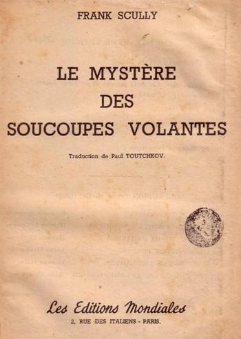 Vague d Ovni en France (1954)
